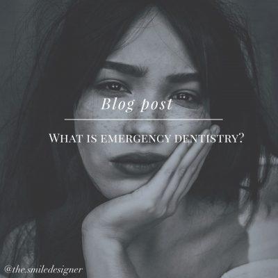 Emergency Dentistry blog